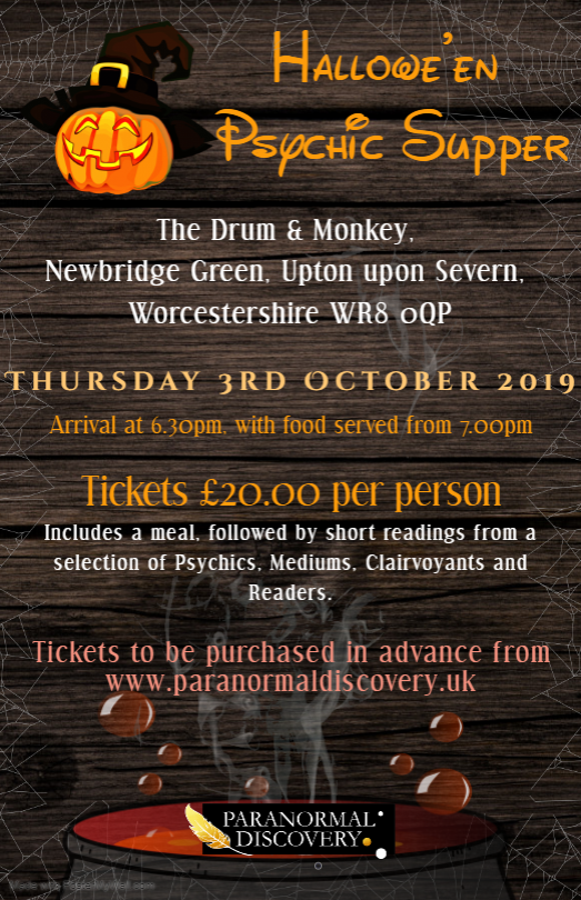 Psychic Supper @ The Drum & Monkey 03/10/2019